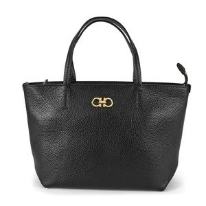 Salvatore Ferragamo Gavina Calfskin Leather Tote